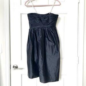 Vera Wang Silk Strapless Dress
